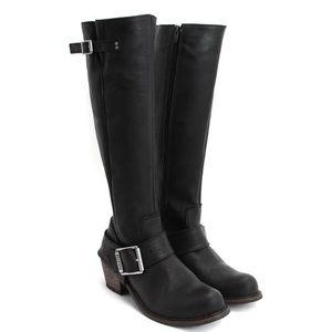 John Fluevog Adriana Luna riding boots leather